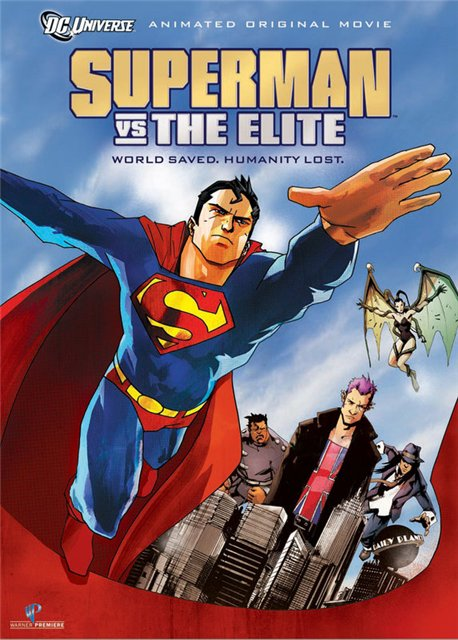 Супермен против Элиты / Superman vs. The Elite (2012) HDRip