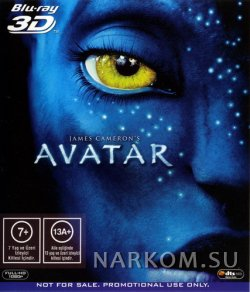 Аватар 3D [Анаглиф red'cyan] / Avatar 3D] (2009) BDRip (Расширенная версия) HD 720